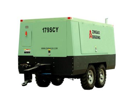 179SCY柴油机驱动移动式螺杆压缩机