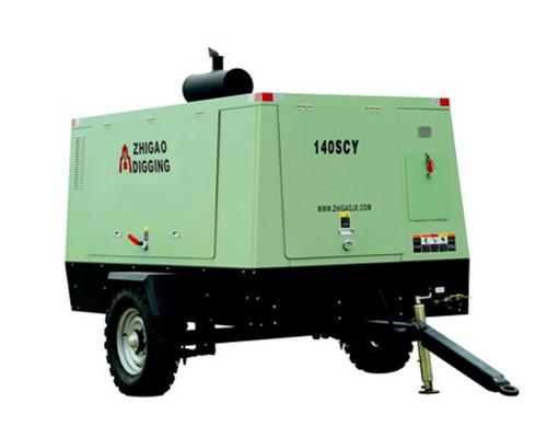 140SCY柴油驱动移动螺杆式空压机
