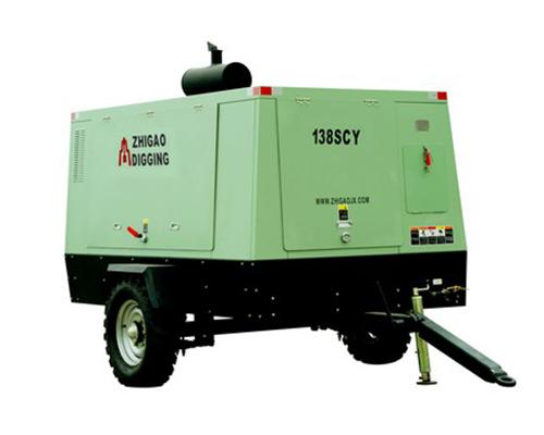 138SCY柴油驱动移动螺杆式空压机