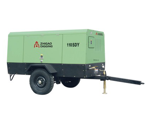 110SDY电驱移动螺杆式空压机